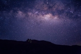18. Magical Milky Way Galaxy shining bright above los crestones