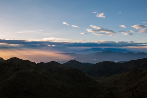 3. 500am first sun rays appear
