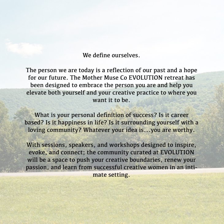 Evolution Blurb